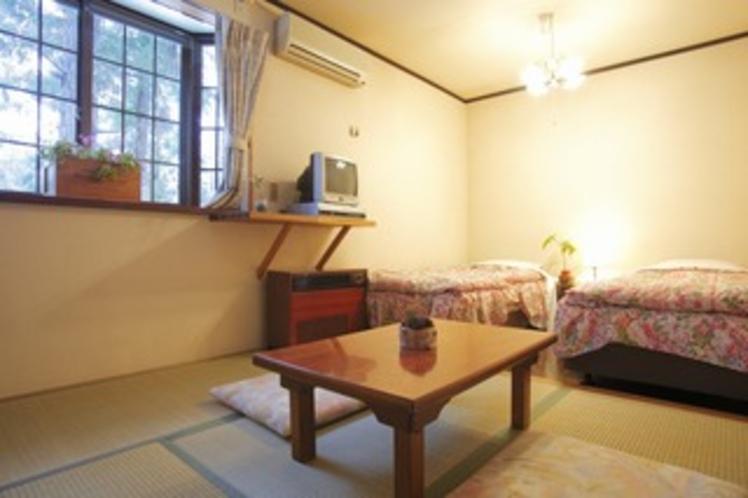 両隣に客室のない10畳の和洋室【かたくり】