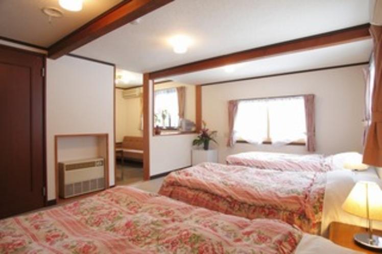 角部屋の22畳の洋室【しらかば】