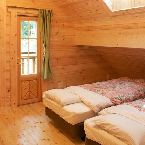 ログコテージベッド