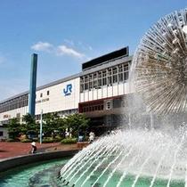 ★岡山駅★ ホテルまで徒歩約7分