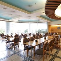 ■レストラン「ラ・ぺーシュ」■ 朝食会場はこちらです。ランチバイキングも人気♪