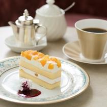 ◆ティーラウンジ「パルテール」◆ケーキ・コーヒーセットでお茶はいかがですか♪