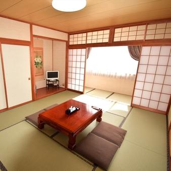 【禁煙】和室12畳(特別室/バス・トイレ付)
