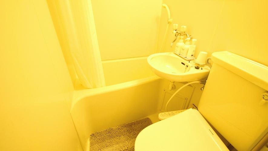 ・洋室ツインルーム バス・トイレ