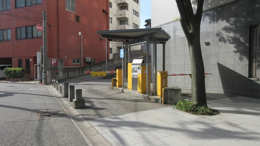 駐車場(入口)