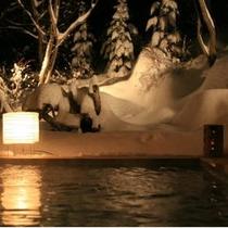 雪見露天風呂♪♪