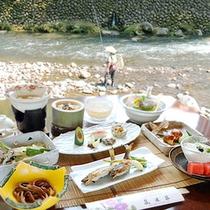 ■夏の鮎会席(一例)