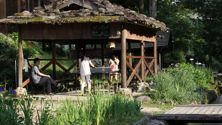 【無料卓球台】野庭園で楽しくピンポン♪(グリーンシーズンのみ:3月~10月)