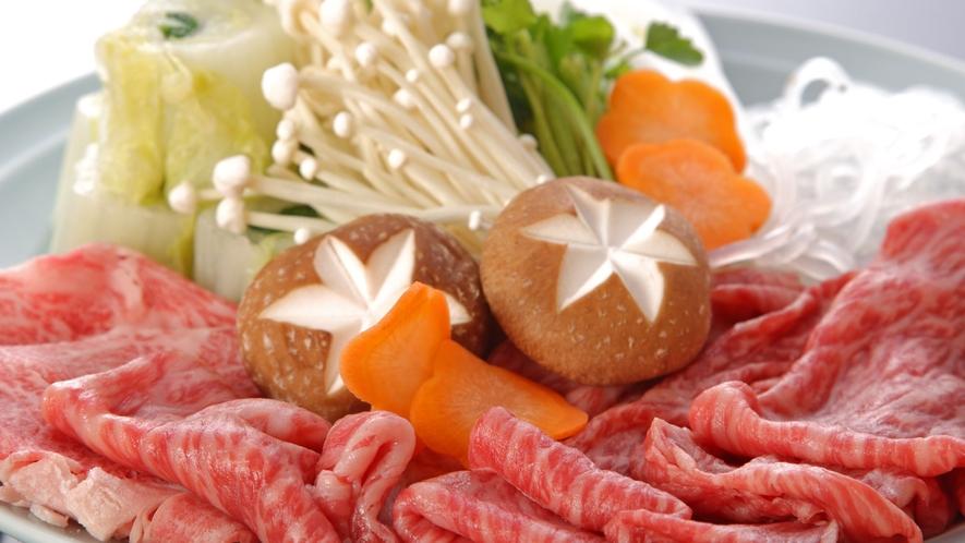 【和牛しゃぶしゃぶ鍋】自家製ポン酢でお召しあがりください♪(一例)