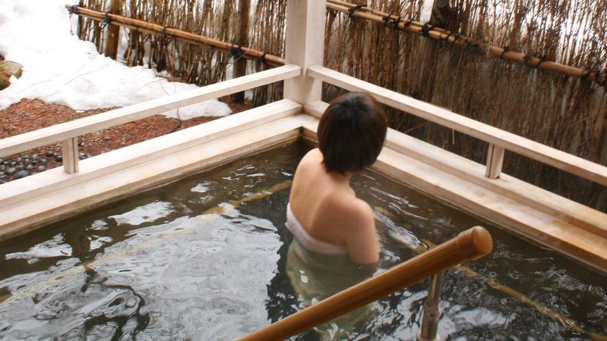 【冬】貸切風呂・山の湯(深湯)