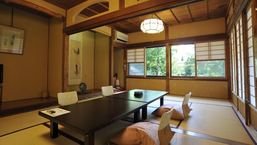 国登録有形文化財「緑風館」(客室一例)