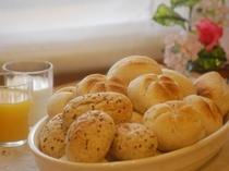 朝食ヨーロピアンブレッド