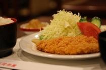 レストラン花茶屋の定食 ロースとんかつ定食
