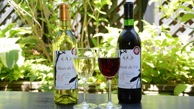 【Musee du Vin】長野県産ぶどうから生まれたブランドワインをご賞味あれ★/夕朝食バイキング