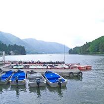【観光】ホテルから車で5分ほどで仁科三湖で有名な「木崎湖」に到着♪サイクリングなどもできますよ。