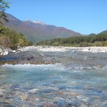 【景観】鹿島川の秋