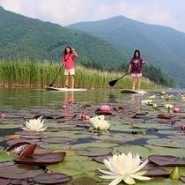 【木崎湖】自然と一体になって遊ぼう