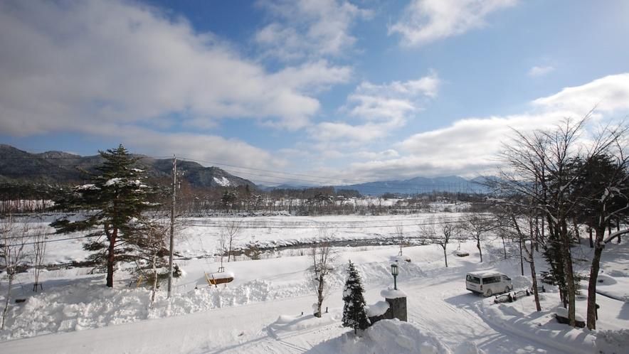 客室からの景観  冬