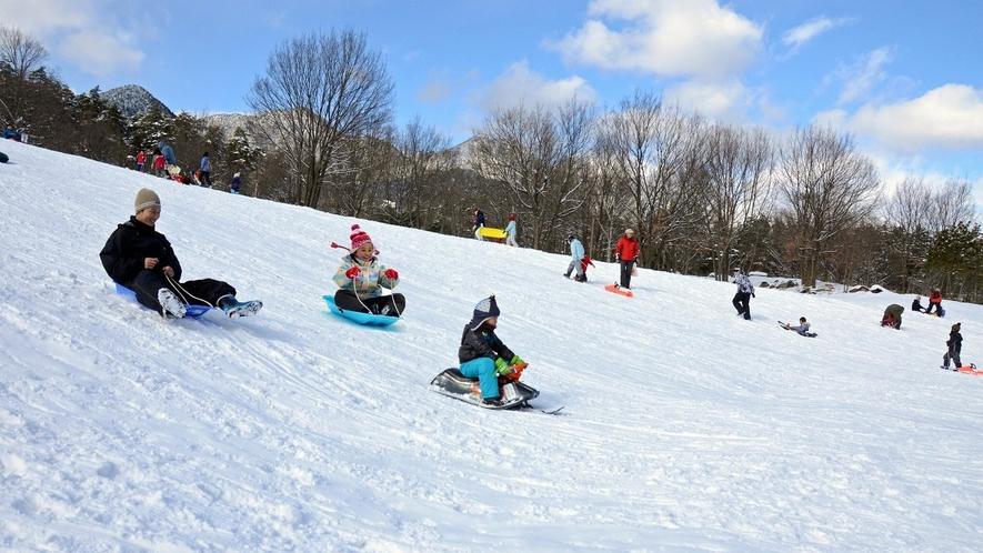 【ファミリープラン 冬】 国営アルプスあづみの公園