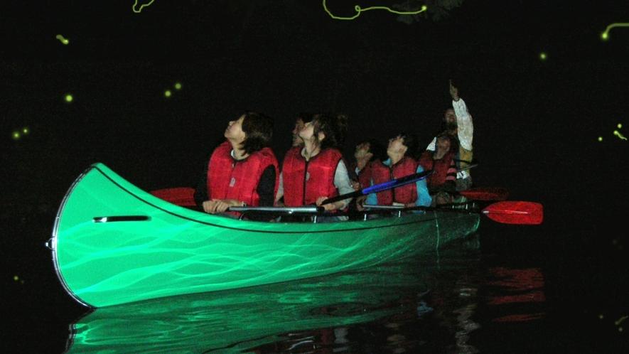 【青木湖ホタル観賞クルーズプラン】