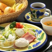 洋朝食 全体イメージ