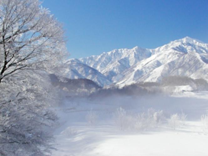 冬の北アルプス