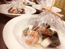鱈と魚貝のアクアパッツア