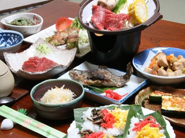 四季の夕食