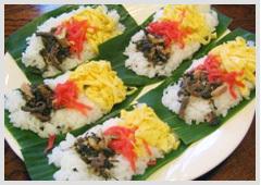 お食事:笹寿司