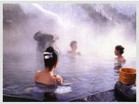 秋:露天風呂