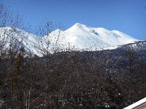 冬の乗鞍岳