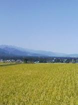 安曇野の風景