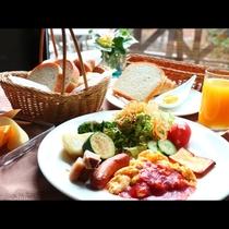 【朝食】洋食スタイルのワンプレート