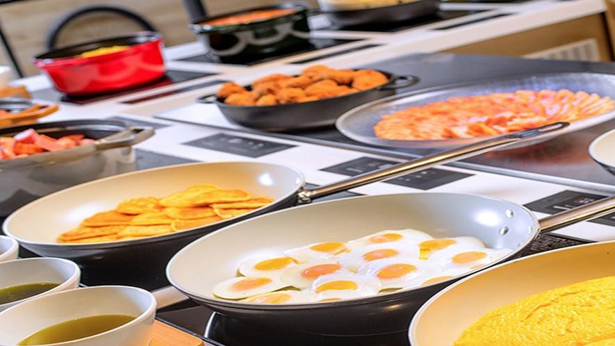 「北海道スカイテラス MINORI(ミノリ)」(15F)朝食ビュッフェイメージ