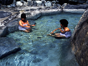露天風呂日向の湯