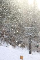 KAORUから見られる雪景色