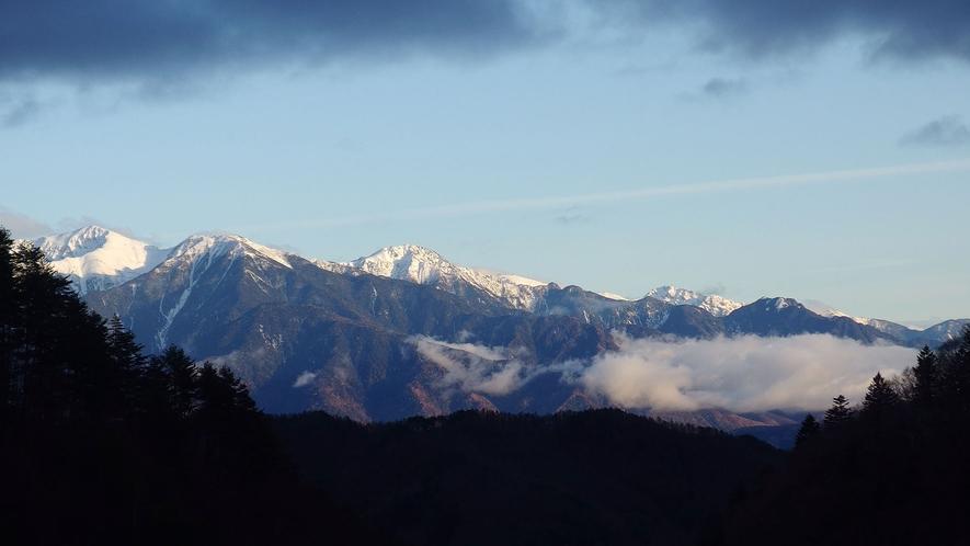 ・カオルから眺めるアルプス山脈
