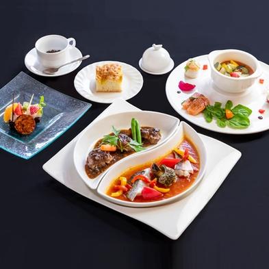 【カジュアルステイ】お肉とお魚のダブルメイン!ビストロセットプラン<ディナー&朝食付>