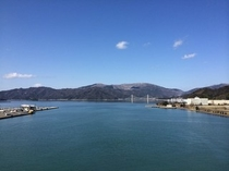 ツインルームから望む美しい舞鶴湾