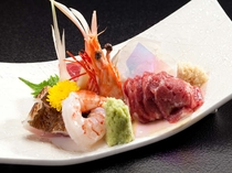 信州の地元食材をふんだんに使った彩り豊かな会席料理