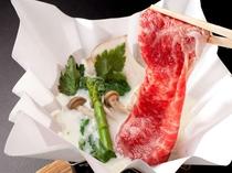 選べるお肉料理プラン(一例)