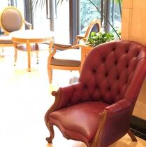 ロビーの椅子