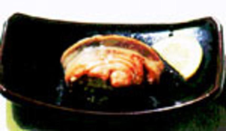 鮭のいんろう焼
