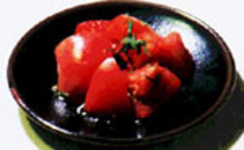 トマト三杯酢あえ