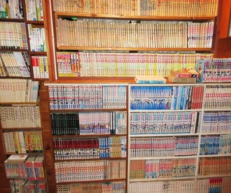2200冊の漫画本見放題