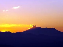 御嶽山の噴火