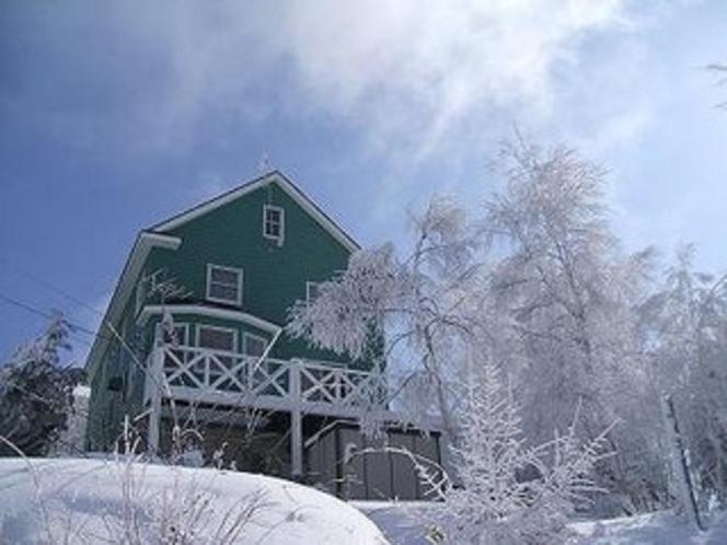 冬のペンション