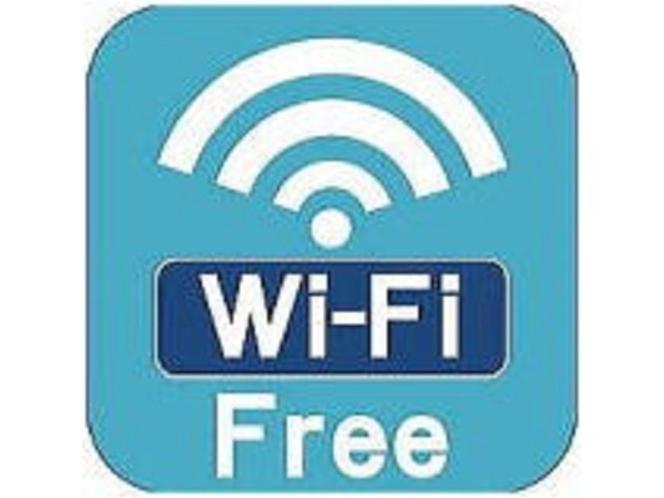 Free Wi-Fi サクサク入ります