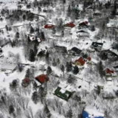 冬の峰の原高原ペンション村