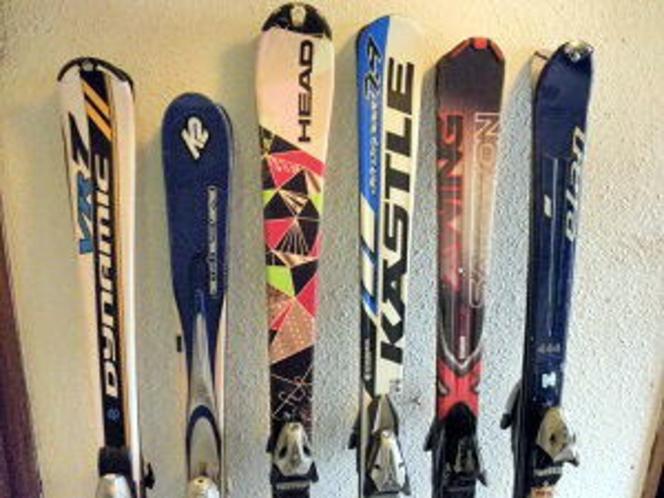 子供から大人まで揃うスキーセット
